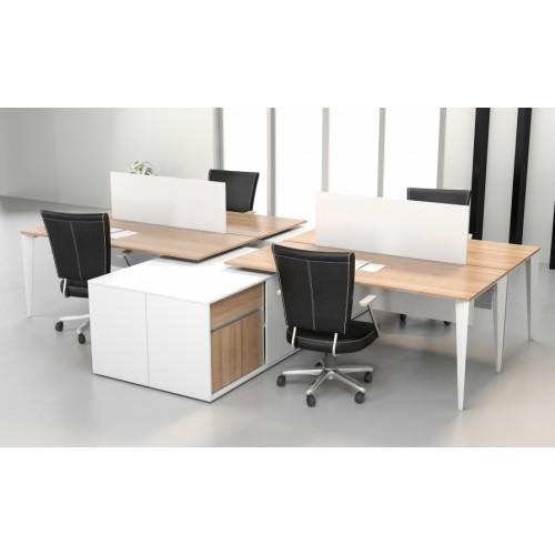 Diva Ofis Exen 4lü Çalışma Masası
